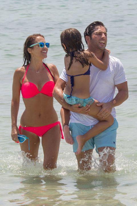 Clothing, Brassiere, Fun, Water, People on beach, Bikini, Swimsuit top, Summer, Undergarment, Swimwear,
