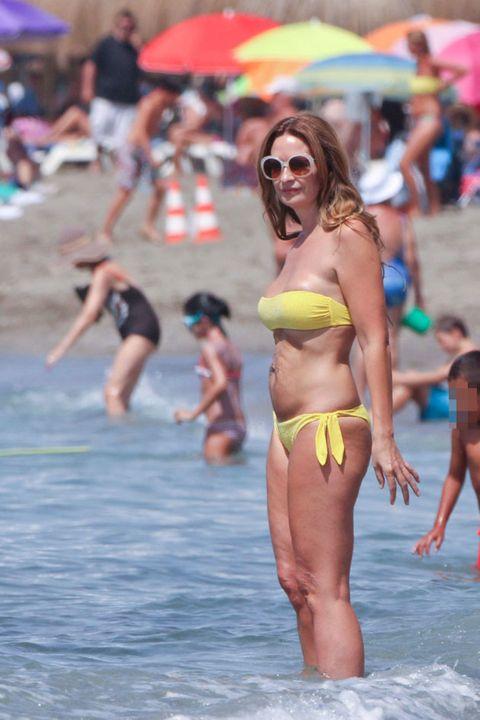 Clothing, Eyewear, Leg, Fun, Glasses, People, Brassiere, Human body, Swimsuit top, Bikini,