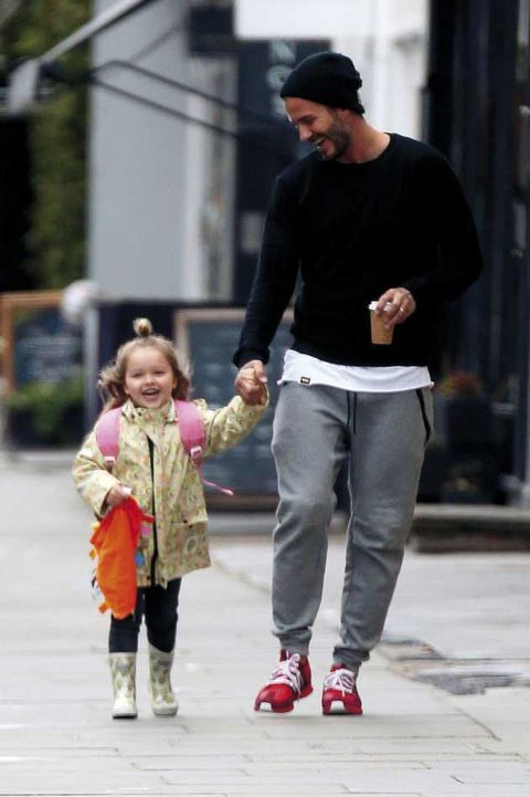 Clothing, Footwear, Leg, Trousers, Standing, Outerwear, Child, Style, Cap, Street fashion,