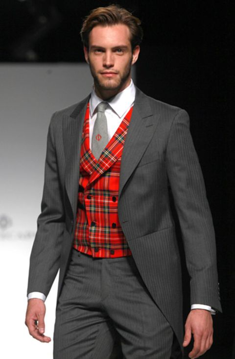 Clothing, Coat, Dress shirt, Collar, Sleeve, Trousers, Suit trousers, Shirt, Pocket, Standing,