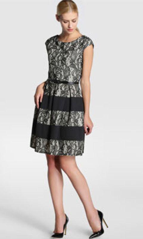 Clothing, Leg, Dress, Product, Sleeve, Human leg, Shoulder, Textile, Joint, Standing,