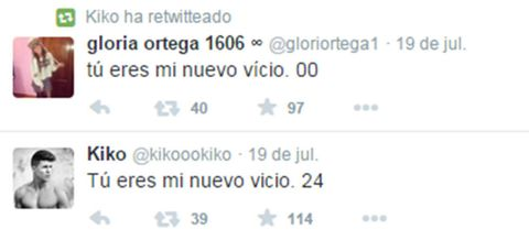 "Gloria Camila cambia a su novio ""Juanki"" por Kiko, de 'MYHYV'"