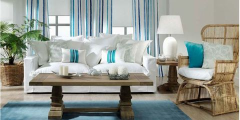 Blue, Interior design, Room, Wood, Green, Property, Furniture, Textile, Floor, Wall,