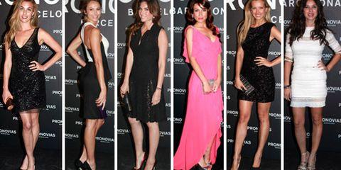 Clothing, Footwear, Leg, Dress, Event, Outerwear, Formal wear, Style, One-piece garment, Fashion model,