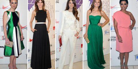 Clothing, Dress, Shoulder, Formal wear, Style, Waist, Fashion, Youth, One-piece garment, Beauty,