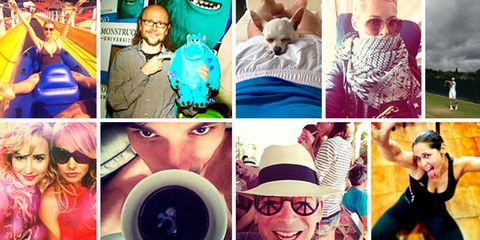 Human, Vision care, Cool, Collage, Fictional character, Cup, Fedora, Beard, Sun hat, Teacup,