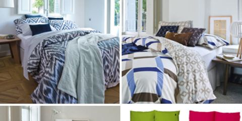 Room, Product, Interior design, Bedding, Green, Bed, Property, Textile, Furniture, Bedroom,