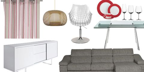 Product, Room, Interior design, Wall, Furniture, Lampshade, Line, Couch, Floor, Lamp,