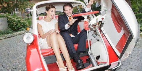 Motor vehicle, Automotive design, Vehicle, Dress, Fender, Classic, Suit, Classic car, Windshield, Vehicle door,