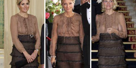 Clothing, Shoulder, Dress, Textile, Formal wear, Style, Waist, Fashion, Neck, One-piece garment,