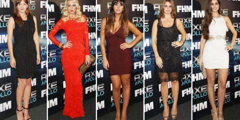 Clothing, Leg, Dress, Event, Shoulder, Flooring, Formal wear, Style, Cocktail dress, Beauty,