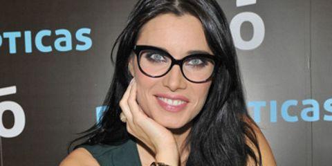 Eyewear, Arm, Glasses, Vision care, Finger, Wrist, Fashion accessory, Logo, Black hair, Bracelet,