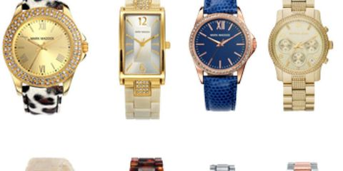 Blue, Product, Glass, Watch, Brown, Analog watch, Photograph, Red, White, Fashion accessory,