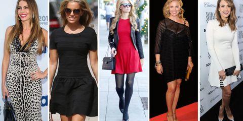 e22072a6c El vestido es la prenda fetiche de las celebs, un look ideal para ir  perfecta a cualquier evento. De color negro, rojo y blanco o con estampado  animal... te ...