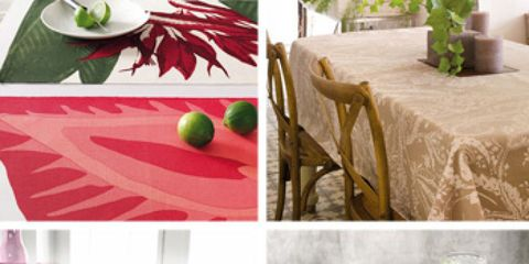 Tablecloth, Textile, Linens, Fruit, Dishware, Produce, Interior design, Natural foods, Home accessories, Rectangle,