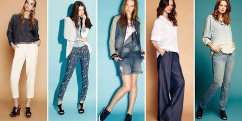 Clothing, Hair, Footwear, Leg, Product, Sleeve, Trousers, Denim, Shoulder, Shirt,