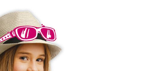 Product, Hat, Hand, Happy, Display device, Headgear, Tablet computer, Costume accessory, Fashion accessory, Gadget,
