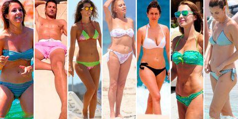 Clothing, Fun, Brassiere, People, Skin, Bikini, Swimsuit top, Swimsuit bottom, Undergarment, Summer,
