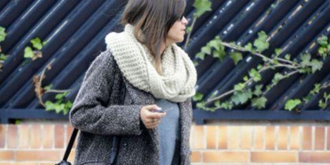Clothing, Shoulder, Textile, Outerwear, Style, Street fashion, Bag, Fashion accessory, Fashion, Pattern,