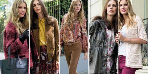 Textile, Outerwear, Style, Street fashion, Beauty, Bag, Fashion, Youth, Long hair, Denim,