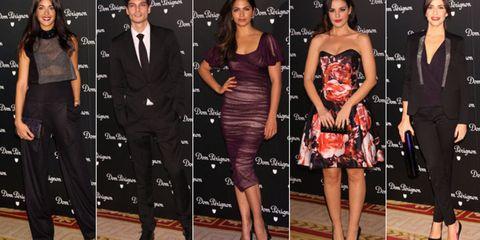 Clothing, Leg, Dress, Outerwear, Flooring, Coat, Red, Formal wear, Style, Fashion,