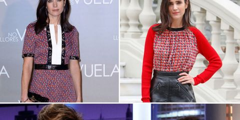 Clothing, Sleeve, Collar, Pattern, Facial expression, Style, Beauty, Fashion, Neck, Waist,