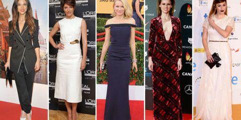 Clothing, Dress, Flooring, Shoulder, Formal wear, Carpet, Style, Waist, Beauty, Fashion,