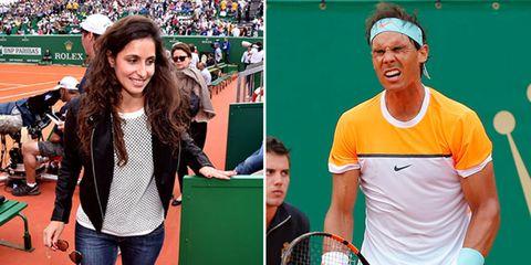 Sport venue, Ball game, Playing sports, Fan, Racket, Racketlon, Racquet sport, Stadium, Cap, Tennis racket,