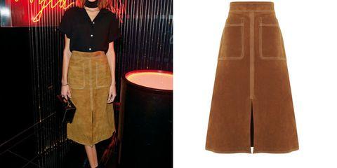 Brown, Textile, Standing, Fashion, Tan, Beige, Maroon, Design, Peach, Fashion design,