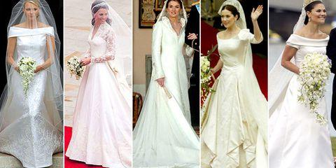Los Vestidos De Novia Reales Más Emblemáticos