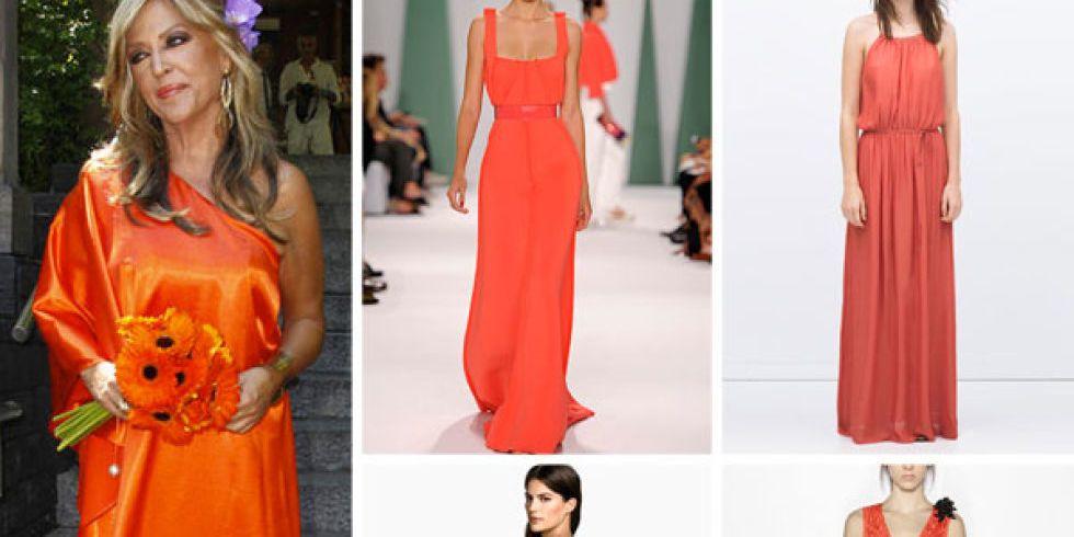 lydia lozano se casa con el color de moda