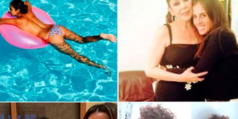 Head, Human, Fun, Serveware, Photograph, Swimming pool, Leisure, Facial expression, Summer, Dishware,
