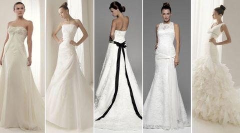 Clothing, Dress, Shoulder, Gown, Textile, Photograph, Joint, White, Standing, Formal wear,