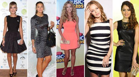 Clothing, Dress, Leg, Outerwear, Flooring, Formal wear, Style, Cocktail dress, One-piece garment, Day dress,