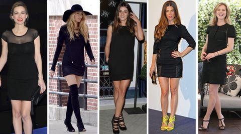 Las Celebs Adictas Al Little Black Dress Cpiales El Look
