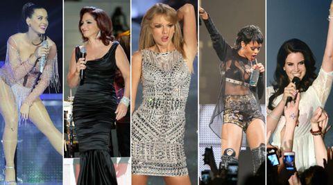 Microphone, Dress, Fashion, Thigh, One-piece garment, Day dress, Public event, Cocktail dress, Stage equipment, Waist,