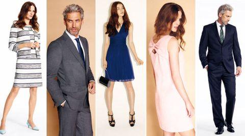 Clothing, Leg, Coat, Dress, Trousers, Collar, Shoulder, Shirt, Suit trousers, Standing,