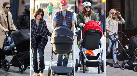 Product, Baby Products, Hat, Jeans, Baby carriage, Style, Jacket, Sunglasses, Luggage and bags, Travel,