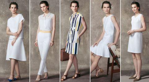 Clothing, Footwear, Leg, Dress, Sleeve, Shoulder, Joint, Formal wear, One-piece garment, Style,