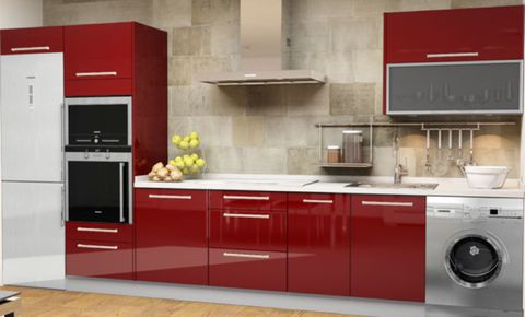 Product, Major appliance, Room, Property, Washing machine, Floor, Home appliance, White, Interior design, Kitchen,