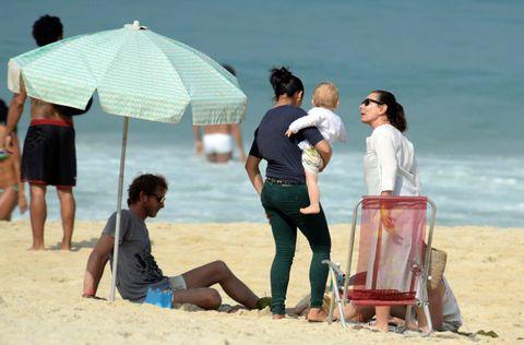 Leg, Fun, People on beach, Tourism, Sand, Leisure, Umbrella, Beach, People in nature, Summer,