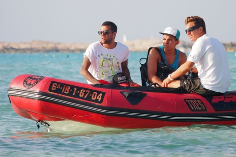 Eyewear, Vision care, Fun, Goggles, Transport, Sunglasses, Recreation, Hat, Watercraft, Boat,