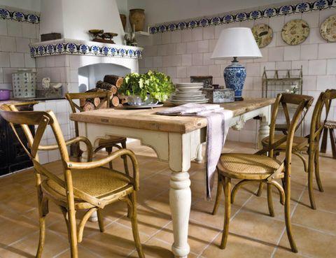 Room, Interior design, Floor, Furniture, Table, Flooring, Chair, Countertop, Dining room, Interior design,