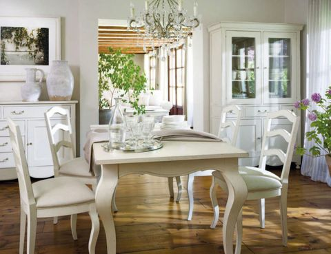 Wood, Room, Interior design, Floor, Furniture, Home, Table, Flooring, White, Dining room,