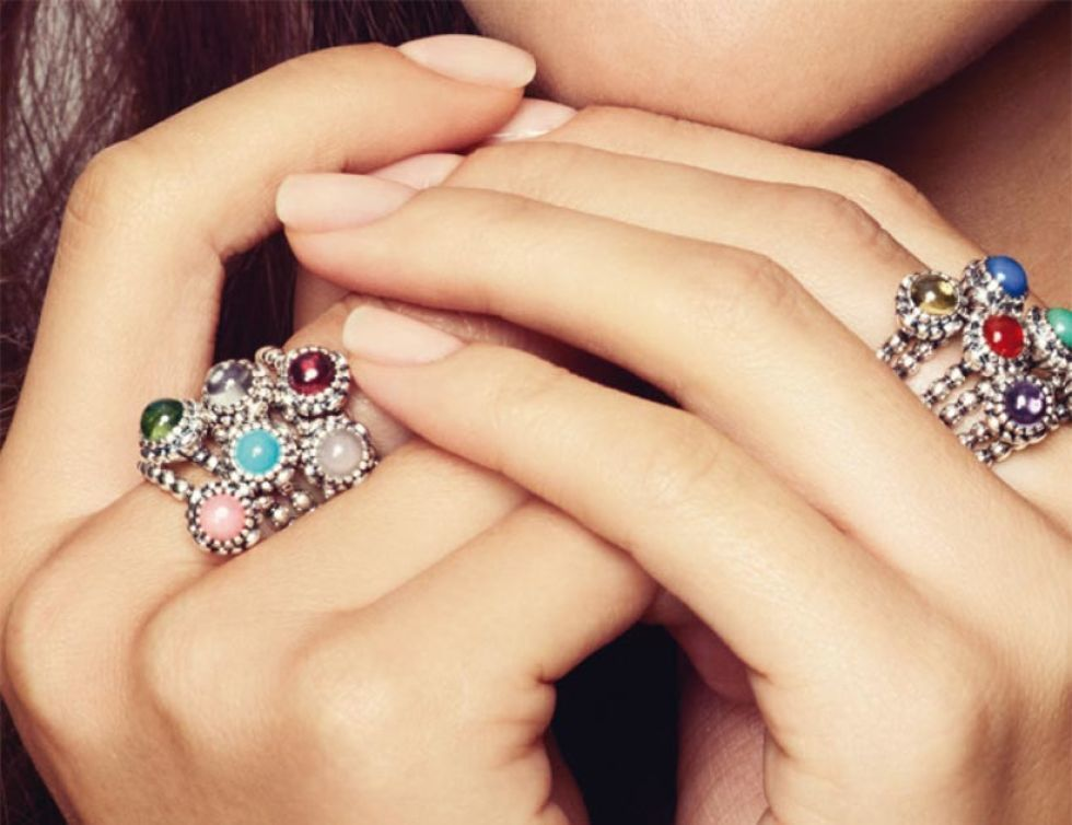 anillo pandora opalo rosa