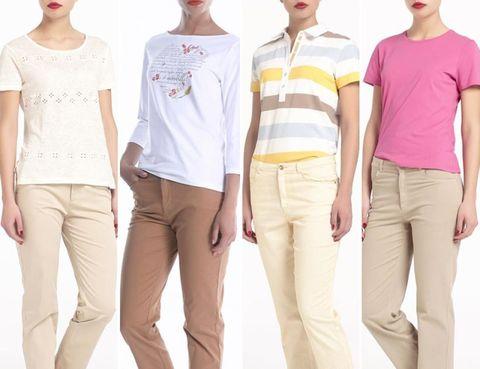 Eyewear, Sleeve, Trousers, Standing, Joint, White, Red, Style, Waist, Headgear,