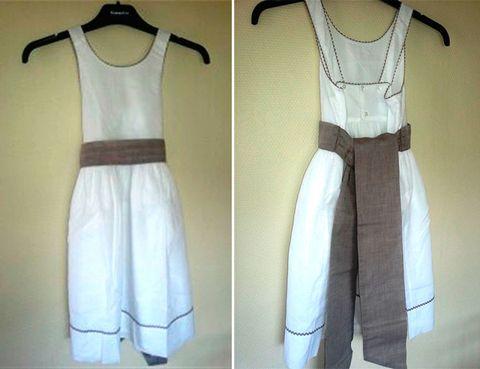 Product, Dress, Sleeve, Textile, Pattern, White, One-piece garment, Style, Fashion, Neck,