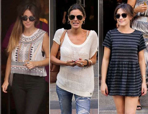 Clothing, Eyewear, Glasses, Vision care, Product, Sunglasses, Human body, Shoulder, Denim, Joint,