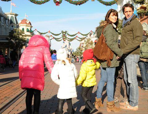 Footwear, Human, Winter, Jacket, Trousers, Tourism, Jeans, Textile, Outerwear, Coat,