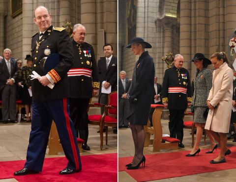 Footwear, Flooring, Carpet, Uniform, Government, Chair, Suit trousers, Official, Military person, Military officer,